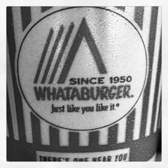 Photo taken at Whataburger by Michael o. on 6/11/2012