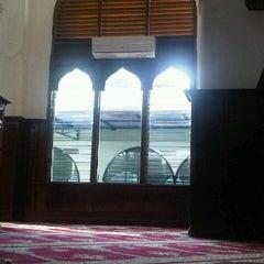 Photo taken at Masjid Cut Meutia by Rachmad K. on 9/9/2012