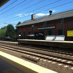 Photo taken at Metro North - Milford Train Station by Renee R. on 6/28/2012