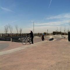 Photo taken at Far Rockaway Skatepark by Eric G. on 4/14/2012
