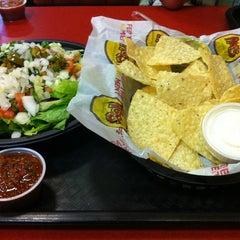 Photo taken at Moe's Southwest Grill by Elizabeth C. on 8/6/2012