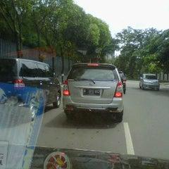 Photo taken at Jl. Denpasar by yandry d. on 3/20/2012