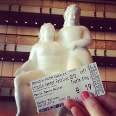 Photo taken at American Ballet Theatre at the Metropolitan Opera House by Laura H. on 7/22/2012