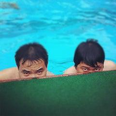 Photo taken at 33 Pham Ngu Lao Swimming Pool by TA M. on 5/5/2012