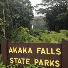 Photo taken at Akaka Falls State Park by Mr. J on 4/15/2012