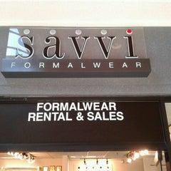 Photo taken at SAVVI Formalwear/Tuxedo Rental by Vicki T. on 5/10/2012