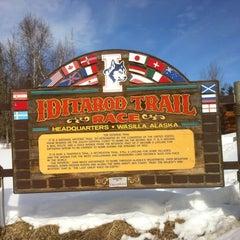 Photo taken at Iditarod Race Headquarters by Robert F. on 3/30/2012