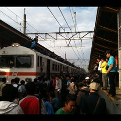 Photo taken at Stasiun Tanjung Barat by sauth r. on 6/7/2012