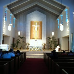 Photo taken at Co-Cathedral Of St. Theresa by Susan on 4/14/2012