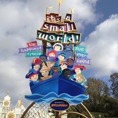 Photo taken at It's a small world by Katie P. on 2/11/2012