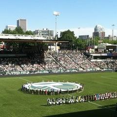 Photo taken at Providence Park by Steven G. on 8/6/2012