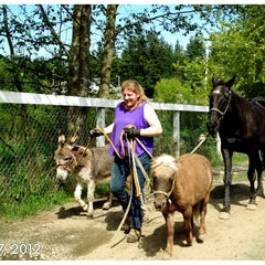 Photo taken at Sunrise Stables Equine Rescue by Brook H. on 5/7/2012