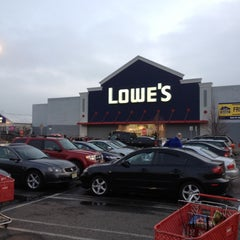 Photo taken at Lowe's Home Improvement by Dan C. on 3/16/2012