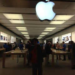 Photo taken at Apple Store, Pacific Centre by Cynthia E. on 5/12/2012