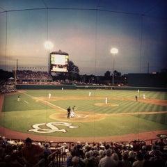Photo taken at Carolina Stadium by Emily B. on 5/6/2012