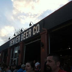 Photo taken at Denver Beer Co. by Derek R. on 3/16/2012