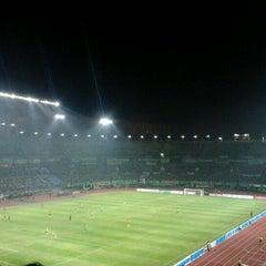 Photo taken at Stadion Gelora Bung Tomo by Totelez on 5/19/2012