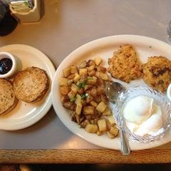 Photo taken at Egg Harbor Cafe by Nadja ૐ. on 3/22/2012