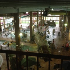Photo taken at Mayan Adventure Waterpark by Victor R. on 3/24/2012