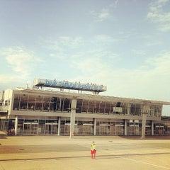 Photo taken at Blue Danube Airport Linz (LNZ) by Koichiro E. on 8/24/2012