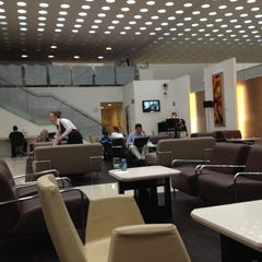 Photo taken at The Centurion Lounge by American Express by Luis Gerardo R. on 2/20/2012