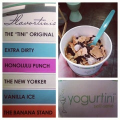 Photo taken at Yogurtini by CJ M. on 5/28/2012