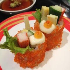 Photo taken at Heiroku Sushi (เฮโรคุ ซูชิ) by Fang_rice S. on 6/2/2012