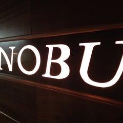 Photo taken at Nobu by Nobu I. on 8/31/2012