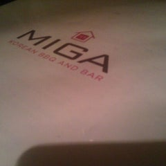Photo taken at Miga by Yong S. on 4/24/2012