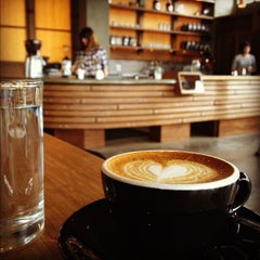 Photo taken at Coava Coffee Brew Bar by Jacob G. on 5/28/2012