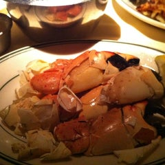 Photo taken at Joe's Seafood, Prime Steak & Stone Crab by Pam V. on 2/25/2012