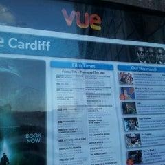 Photo taken at Vue Cinema by Elio Assuncao D. on 5/12/2012