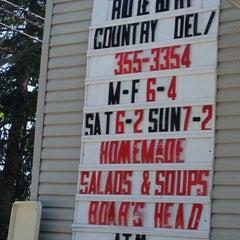 Photo taken at Ridgebury Country Deli by Anthony on 5/13/2012