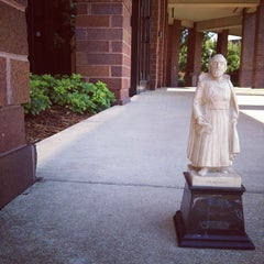 Photo taken at Weasler Auditorium by Father M. on 8/30/2012