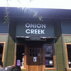 Photo taken at Onion Creek by Bri L. on 3/2/2012