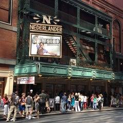 Photo taken at Nederlander Theatre by Mark L. on 8/25/2012