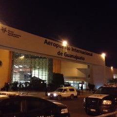 Photo taken at Aeropuerto Internacional de Guanajuato (BJX) by Francisco M. on 9/4/2012