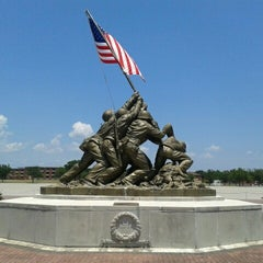 Photo taken at Parris Island, SC by Clark R. on 7/7/2012