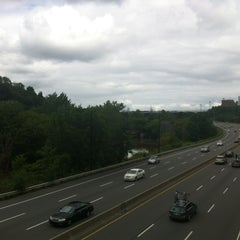 Photo taken at Discovery Walk DVP Footbridge by Andy H. on 8/12/2012