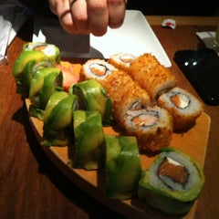 Photo taken at Sushihana by Patricio S. on 7/16/2012