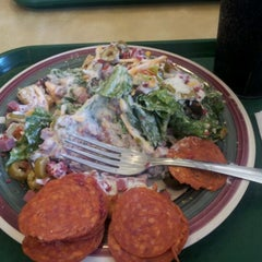 Photo taken at Souper Salad by Kelly B. on 8/7/2012