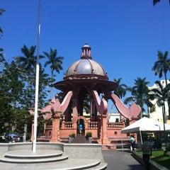 Photo taken at Plaza De Armas by Oscar T. on 5/27/2012