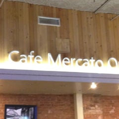 Photo taken at Cafe Mercato by Justin B. on 7/14/2012
