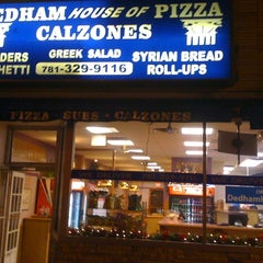 Photo taken at Dedham House of Pizza by George P. on 5/3/2012