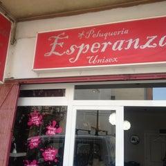 Photo taken at Peluqueria Esperanza by Espe R. on 3/29/2012