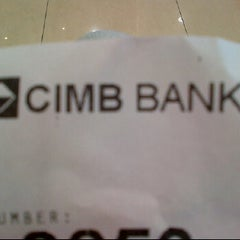 Photo taken at CIMB Bank by Acu E. on 2/9/2012