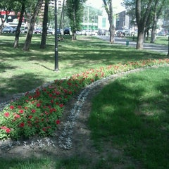 Photo taken at Сквер Воїнів-Інтернаціоналістів by Nina S. on 6/12/2012