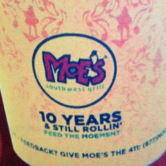 Photo taken at Moe's Southwest Grill by Graham on 7/30/2012