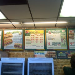 Photo taken at SUBWAY by 🇬🇧Alphonso G. on 7/23/2012