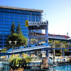 Photo taken at Disneyland Hotel by Sean M. on 8/31/2012